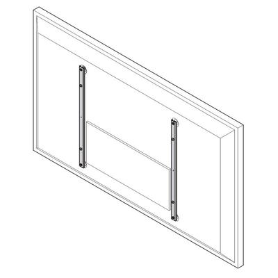 Chief Fusion Interface Extender, Vertical, 1kg Muur & plafond bevestigings accessoire - Grijs