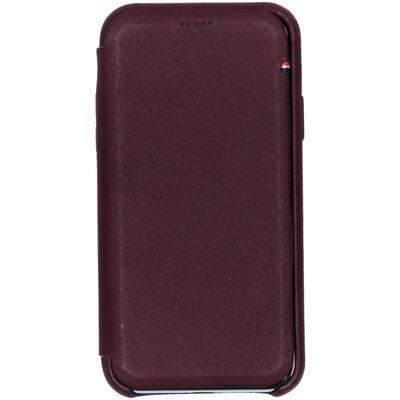 Leather Slim Wallet iPhone Xs / X - Paars - Paars / Purple Mobile phone case