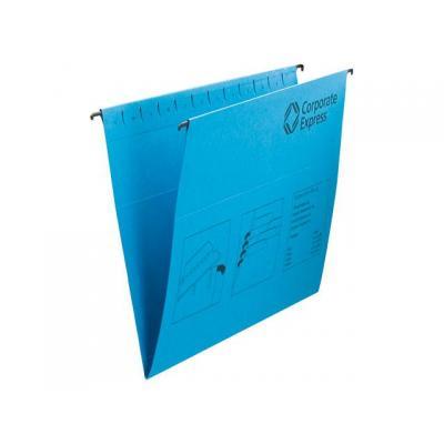 Staples hangmap: Hangmap SPLS A4 50mm bodem groen/ds 25