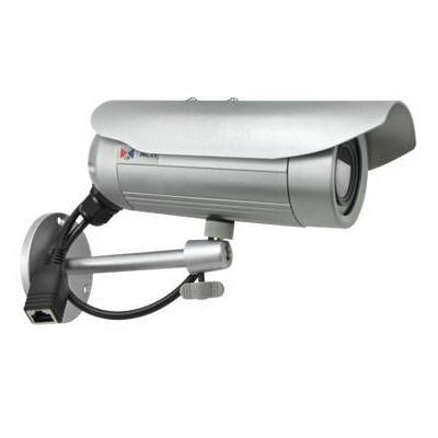 "Acti beveiligingscamera: 1MP, 1280 x 720, 720p, 30 fps, 1/4"" CMOS, Fast Ethernet, PoE, 4.8 W - Zwart, Wit"