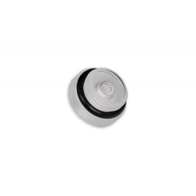 Ek water blocks cooling accessoire: EK-PLUG G1/4 Plexi - Zwart, Wit
