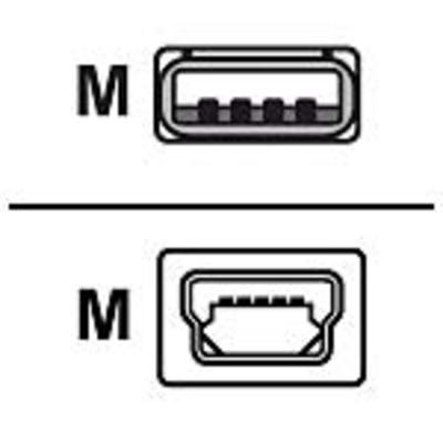 Zebra USB-A to USB mini-B Cable USB kabel