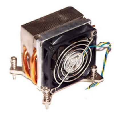 HP 382024-001 Hardware koeling - Zwart, Metallic - Refurbished ZG