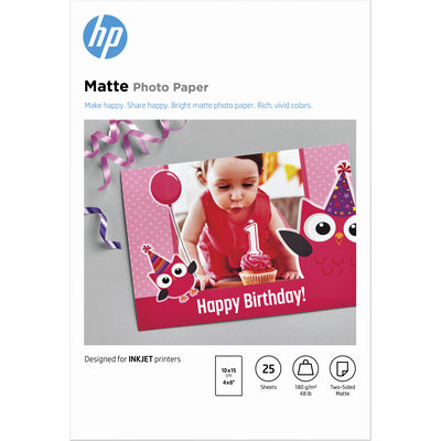 HP 7HF70A pakken fotopapier