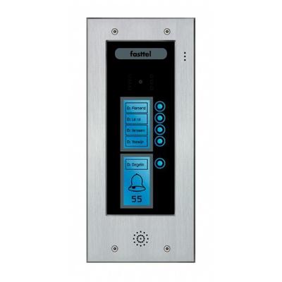 Fasttel deurbel: Wizard Elite FT2505 - Zwart, Grijs