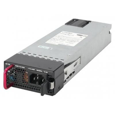 Hp switchcompnent: X362 1110W power supply - 100-240VAC (50-60Hz) to 56VDC power supply - For Power over Ethernet (PoE) .....