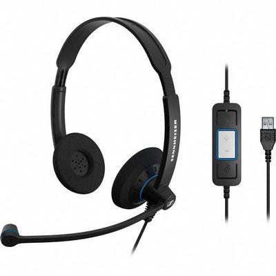 Sennheiser SC 60 USB CTRL headset - Zwart