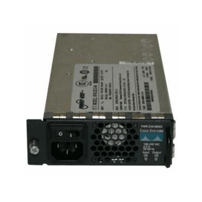 Cisco switchcompnent: Catalyst 4948 300W AC power supply - Zwart, Zilver (Refurbished LG)