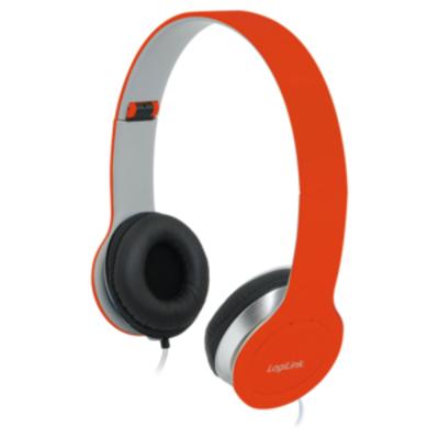 LogiLink HS0035 Headset - Rood