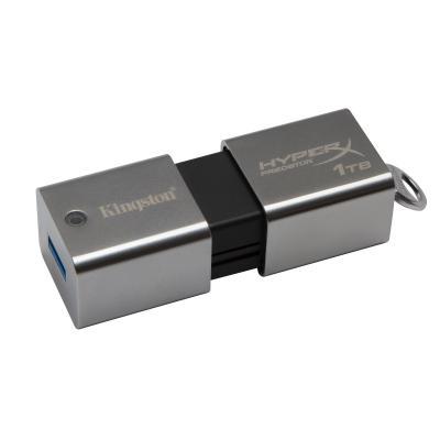 Hyperx USB flash drive: Predator 1TB - Roestvrijstaal
