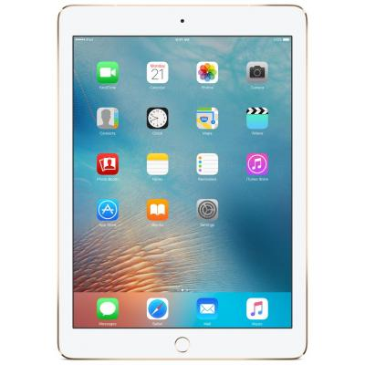 Apple tablet: iPad Pro 9.7'' Wi-Fi + Cellular 128GB Gold - Refurbished - Geen tot lichte gebruikssporen - Goud .....