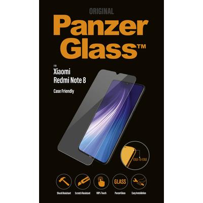 PanzerGlass Xiaomi Redmi Note 8 Edge-to-Edge Screen protector - Transparant