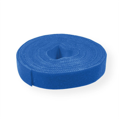 Value Cable Tie Roll, 10mm, blue, 25 m Kabelbinder - Blauw