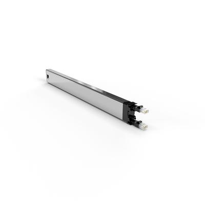 PATCHBOX ® 365 Cat.6a Cassette (UTP, Black, 0.8m / 8RU) Netwerkkabel - Zwart