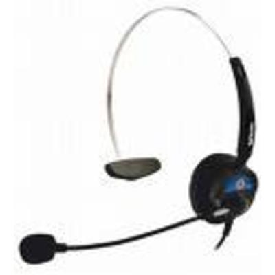 Snom HS-MM3 Headset - Zwart, Blauw