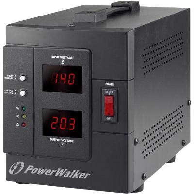 Bluewalker voltage regulator: PowerWalker AVR 1500/SIV - Zwart