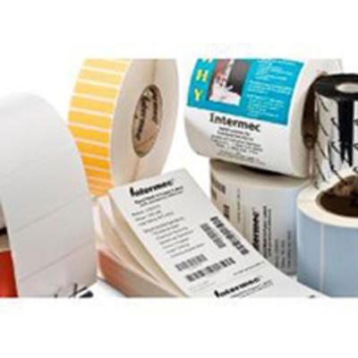Intermec TTR Coated Paper Etiket - Wit