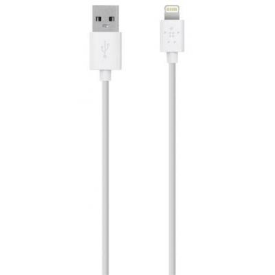 Belkin kabel: MIXIT Lightning/USB-ChargeSync-kabel - Wit