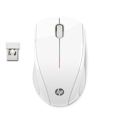 HP X3000 sneeuwwitte draadloze Muis