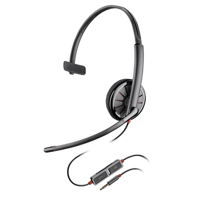 POLY Blackwire 215 Headset - Zwart