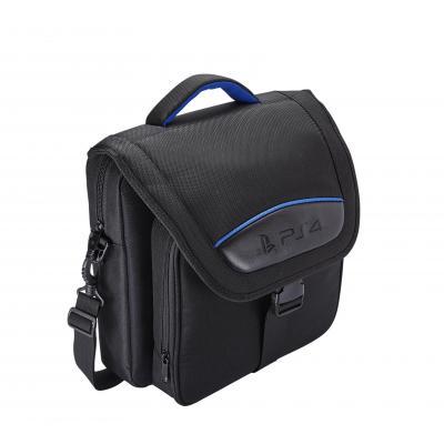 Bigben interactive spel accessoire: Officiële PS4 tas voor dragen en opbergen - Zwart, Blauw
