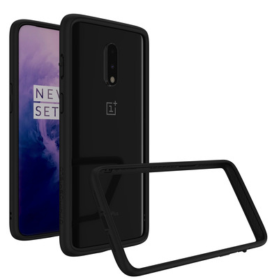 CrashGuard Bumper OnePlus 7 - Zwart - Zwart / Black Mobile phone case