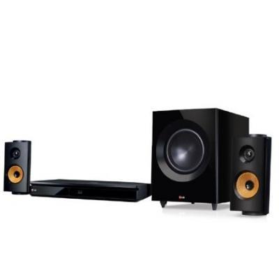 Lg home cinema system: 2.1 ch, Blu-Ray, 600W - Zwart