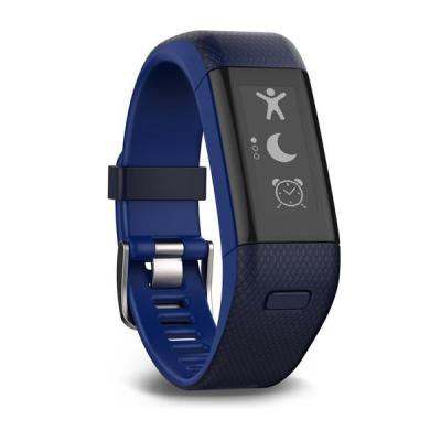 Garmin wearable: vívosmart HR+ - Zwart, Blauw