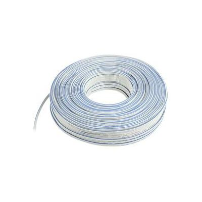 Valueline signaal kabel: 2 x 1.00mm, 100m, White - Wit