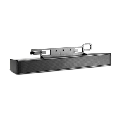 Hp soundbar speaker: LCD luidsprekerbalk - Zwart
