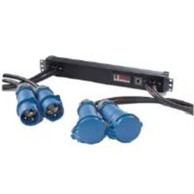 Eaton PW107MI0UC04 In-line Monitored ePDU, 1 x IEC 60309 32A to 1 x IEC 60309 16A, Single Phase, 3m .....