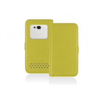 Sbs e-book reader case: Universal Book case for Smartphone up to 5.5'', Yellow - Geel