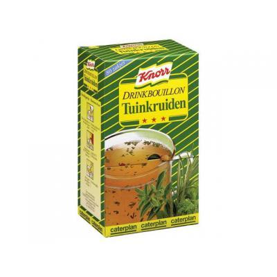 Knorr voedingswaar: Drinkbouillon tuinkruiden/pk 80
