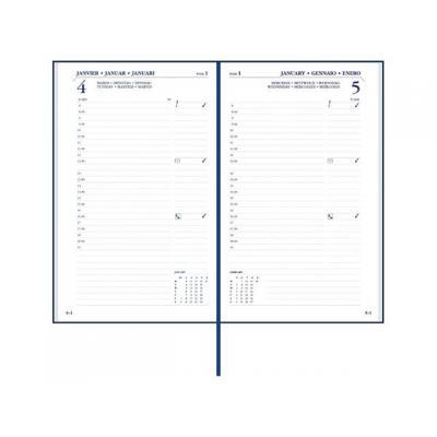 Staples kalander: Agenda SPLS London 115x185 1dpp 6t zwart