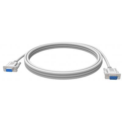 Vision seriele kabel: Seriële verlengkabel, 2 x 9-pin D-sub, M/F, 2m, Wit