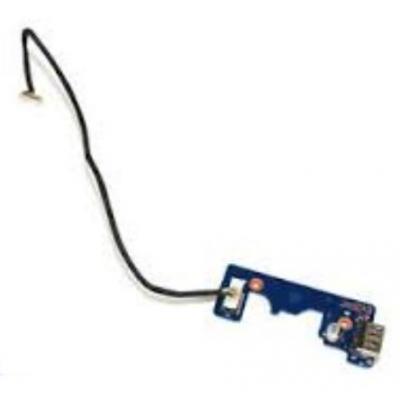 Samsung notebook reserve-onderdeel: USB Board - Zwart, Blauw