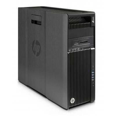 Hp pc: Z 640 MT - Intel Xeon E5 - 256GB SSD - Zwart