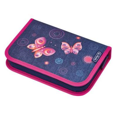 Herlitz potlood case: Butterfly Dreams - Multi kleuren