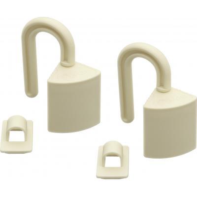 Olympia BS 850 Finger Guard Deurstopper - Wit