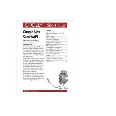 O'reilly boek: Media Google Ajax Search API - eBook (PDF)