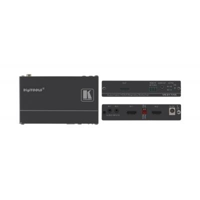 Kramer Electronics Kramer VS-211HA Switcher Video switch - Grijs