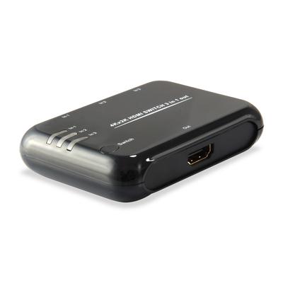 Equip 3 x HDMI, 2W, 60 g, 3D, Black Video switch - Zwart