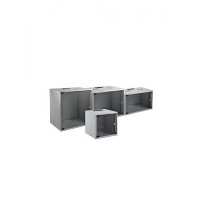 "EFB Elektronik 19"" 12U Wall Housing Basic, Depth 600 mm, 1-Part, Flat Pack, RAL7035 rack - Grijs"
