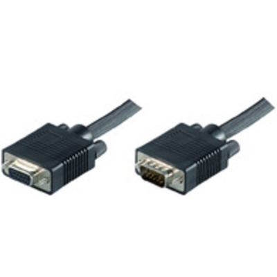 Microconnect SVGA/HD15 1m - Zwart