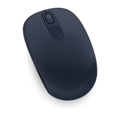 Microsoft computermuis: Wireless Mobile Mouse 1850 - Navy