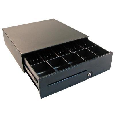 Apg cash drawer geldkistlade: T480-1-BL1616-M5 - Zwart
