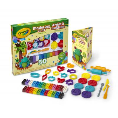 Crayola : Boetseerklei Deluxe kit - Veelkleurig