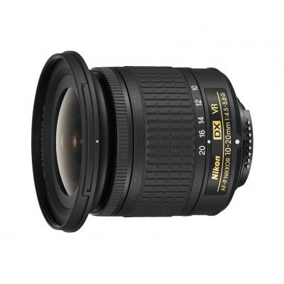 Nikon camera lens: AF-P DX NIKKOR 10-20mm f/4.5-5.6G VR - Zwart