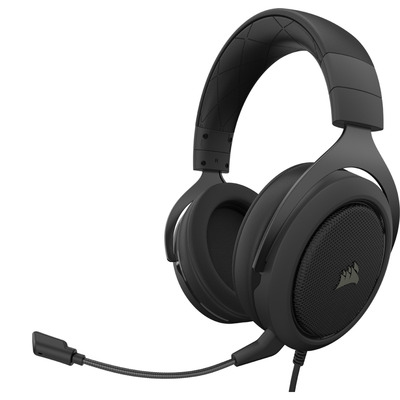 Corsair HS50 PRO Stereo Headset - Zwart