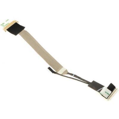 Hp notebook reserve-onderdeel: LCD Cable - Zwart, Grijs